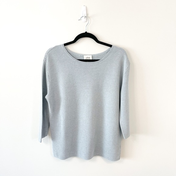 Aritzia Wilfred Blanchard Pale Blue Sweater Sz S